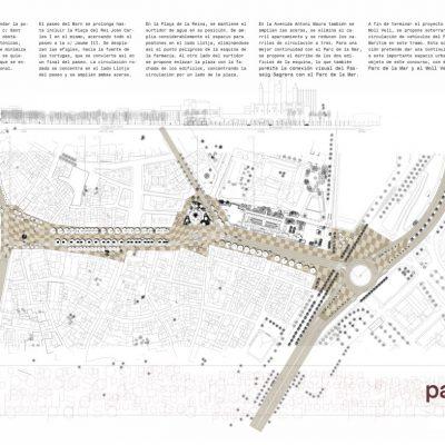 Concurso de ideas Passeig del Born Palma Mallorca Finalista